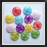 Намистини Crackle Таблетка 3 см, фото 2