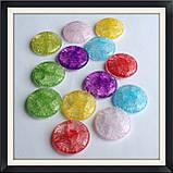 Намистини Crackle Таблетка 3 см, фото 3