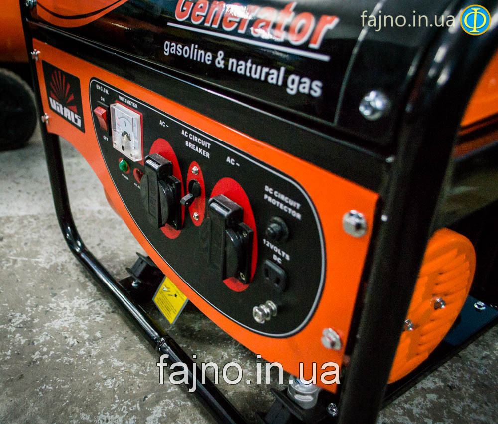 Генератор газобензиновый Vitals Master EST 6.0bg  фото 1