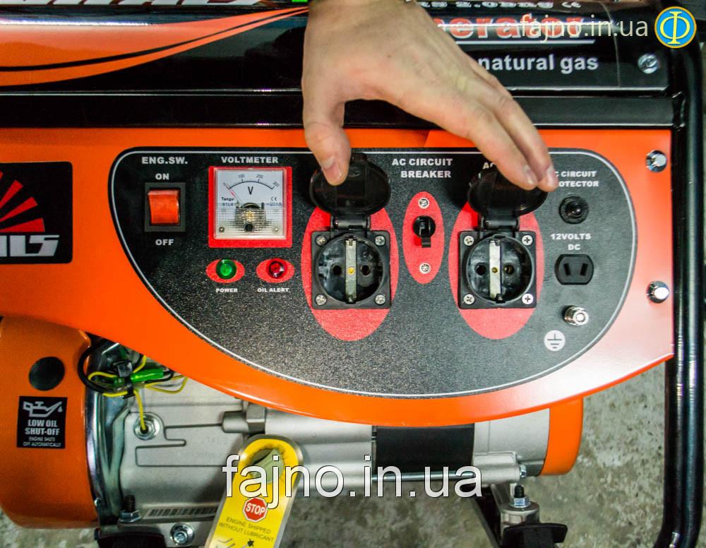 Генератор газобензиновый Vitals Master EST 6.0bg  фото 2