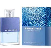 Оригинальная мужская туалетная вода  Armand Basi L'eau Pour Homme (арманд баси ли пур хом) 125 ml ТЕСТЕР ORGAP