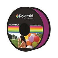 Катушка с нитью Polaroid 1.75мм/1кг PLA для 3D принтера Прозрачный Пурпурный
