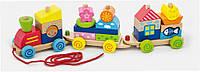 Игрушка-каталка Viga Toys Паровозик (50089)