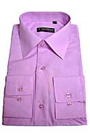 """Рубашка мужская """"Emerson"""". Сиреневая. Длинный рукав"""