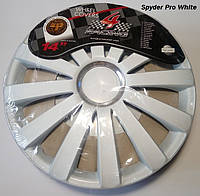 Автомобильные колпаки 4 Racing R14 SPYDER PRO WHITE
