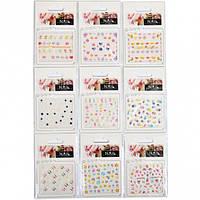 Наклейки на ногти А7, цветные 239 (арт.NN239)