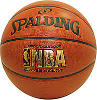 Баскетбольный мяч Spalding NBA Cross Court Official  74-905D