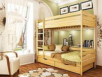 Кровать двухъярусная «Дуэт с ящиками» щит(цвет 102) 90х200. Доставка по Украине. Гарантия качества