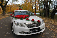 Свадебное авто,аренда машин Toyota Camry 2013 г белая, черная