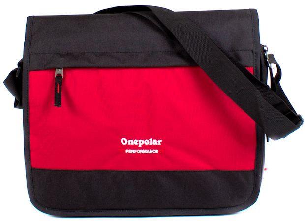 Мужская сумка-почтальон Onepolar красный — только качественная продукция от SuperSumka
