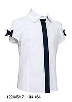 Блузка школьная sly 122A/S/17 р 134-164