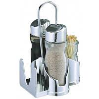 Набор специй соль,перец,салфетки и зубочистки 0107
