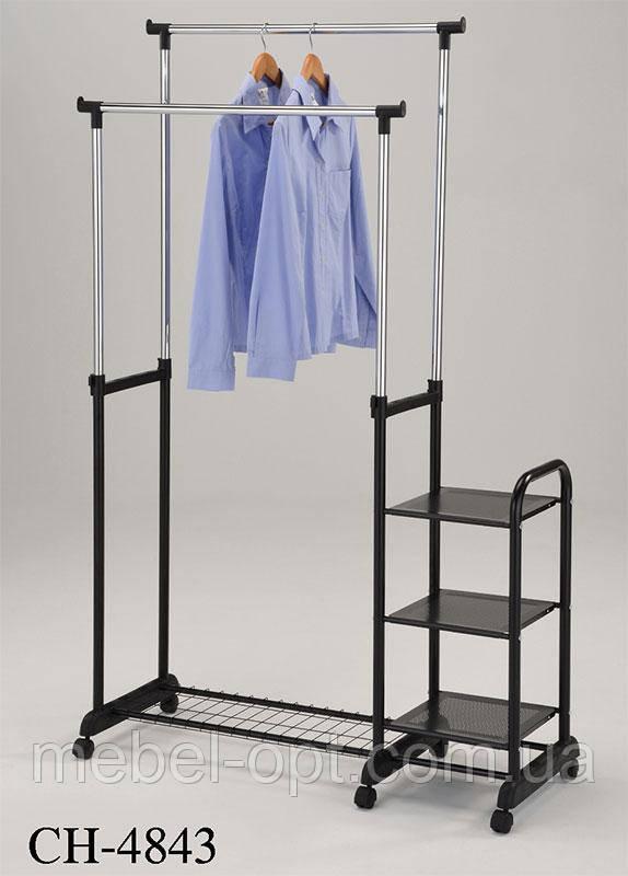 Стойка для одежды мобильная CH-4843