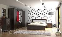 Спальня  из массива ольхи  RICH (Рич), цвет на выбор