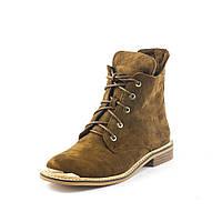 Ботинки демисез женск SP Lion W190-C18 коричневые