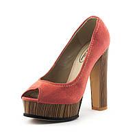 Туфли женские Elise Shoes A3-303T-1 коралловые