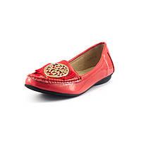 Мокасины женские Elise Shoes L3-335TB-1 коралловые