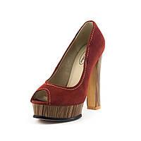 Туфли женские Elise Shoes A3-302T-1 рыжие