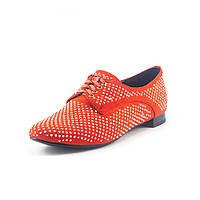 Туфли женские SP Lion M235-E36-1 оранжевые