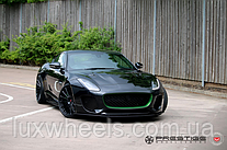 Jaguar F-Type на дисках Vossen VPS-305