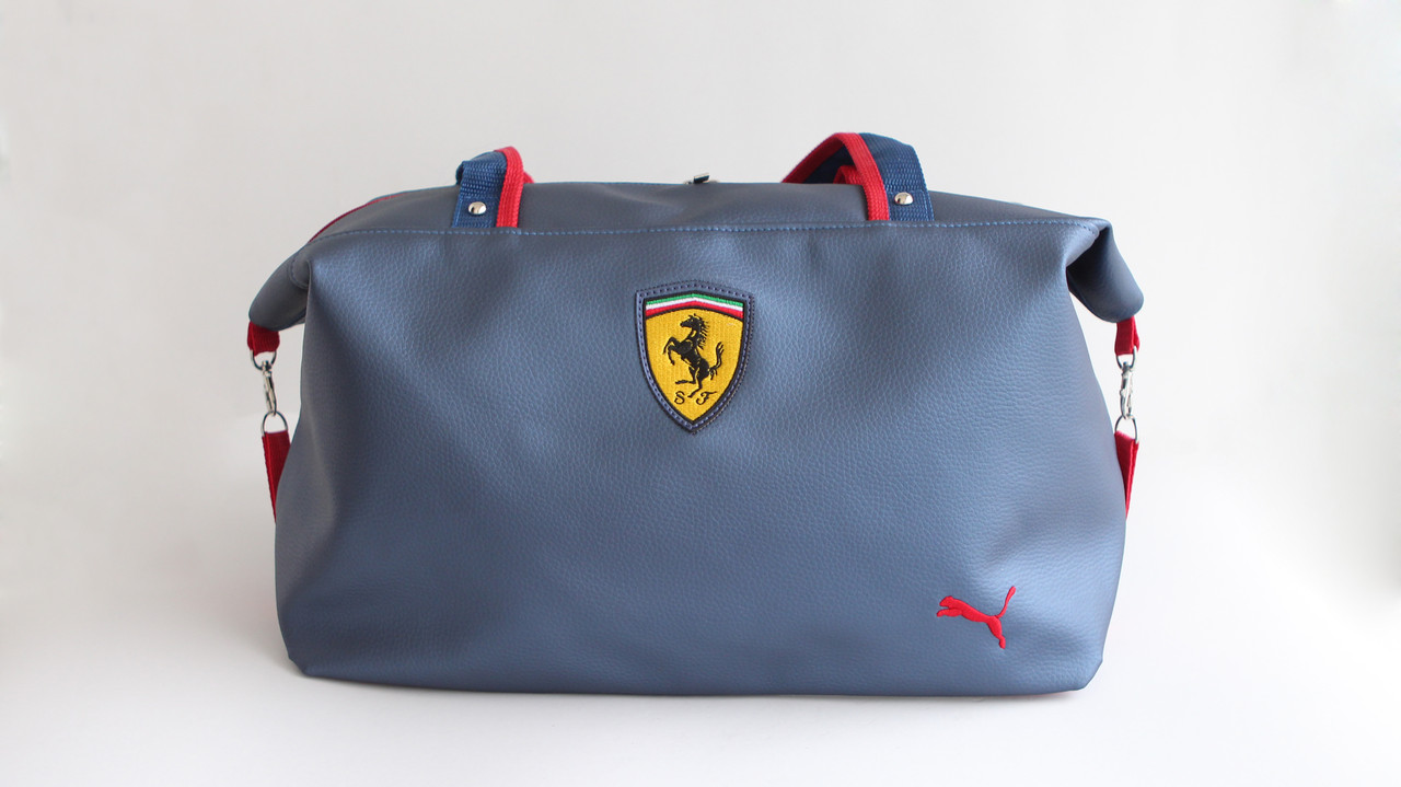 c41c36286b1b Сумка Puma Ferrari женская спортивная новая темно-синяя эко-кожа Пума  Ферари - Медицинская