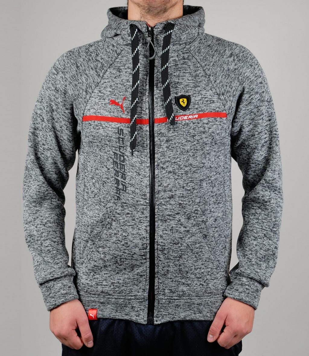 e541ca8ff4d6 Мужская зимняя спортивная кофта Puma Ferrari - Торговая площадка