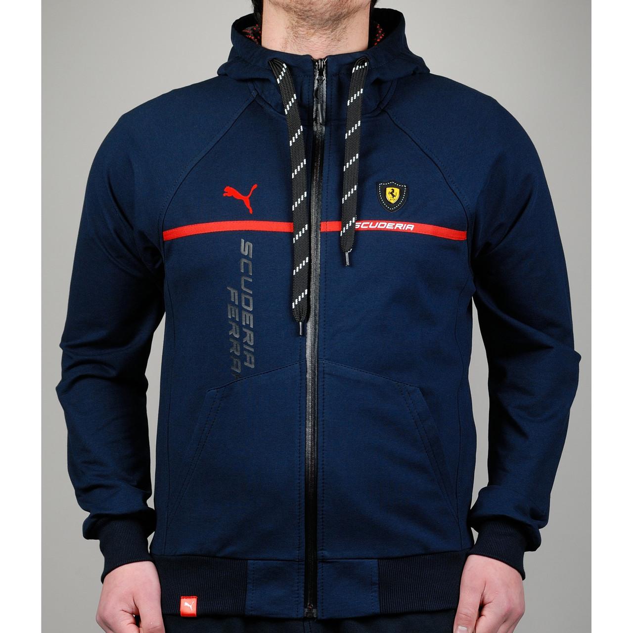 14598f3c3594 Мужская спортивная кофта Puma Ferrari - Торговая площадка