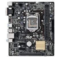 ASUS s1151 H110 H110M-CS / C / SI Bulk Гнездо процессора: Socket 1151, Чипсет материнской платы: Intel H110, Т