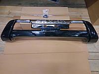 Накладка на передний бампер Тойота Прадо 150 2014