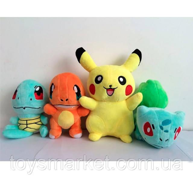 Покемоны мягкие игрушки