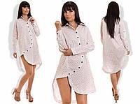 """Стильная женская рубашка-туника """" Токио """" Dress Code"""
