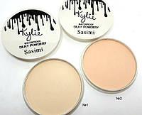 Компактная пудра для лица Kylie Waterproof Silky Powdery