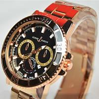 Мужские кварцевые часы Ulysse Nardin Maxi Marine U5221, фото 1