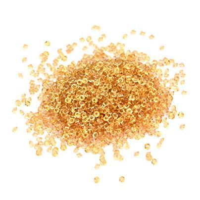 CRYSTAL PIXIE - ПИКСИ для нігтів золото (кришталева крихта), 100 шт. в баночці