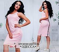 """Женское летнее платье в спортивном стиле """"Найк"""" раз. 42-46"""