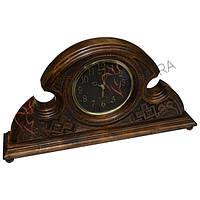 "Часы ""Буковина"", темный циферблат"