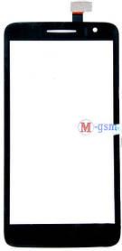 Сенсор (тачскрин) для телефона Alcatel 8008, 8008d, 8008A, 8008W, 8008X (CT3S0008-V1FPC-A1-E) черный