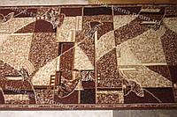 Дорожка ковровая мозаика коричневая