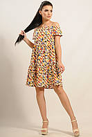 Платье Нелли Ри Мари желтый