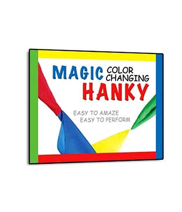 MAGIC TRICK COLOR CHANGING HANKY, фото 2