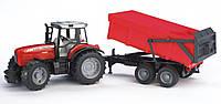 Игрушка Bruder Трактор Massey Ferguson 7480 c прицепом М1:16 (02045)