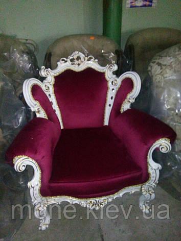 "Кресло в стиле барокко ""Белла"" в ткани, фото 2"