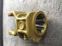 Вилка карданного вала под крестовину 24*62 6 или 8 шлицов