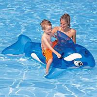 Надувная игрушка Кит 41036 Bestway, плотик, кит, акула