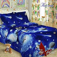 Детское постельное белье (поплин) Космос