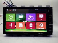 Магнитола Pioneer PI-703 2din GPS+USB+BT+TV