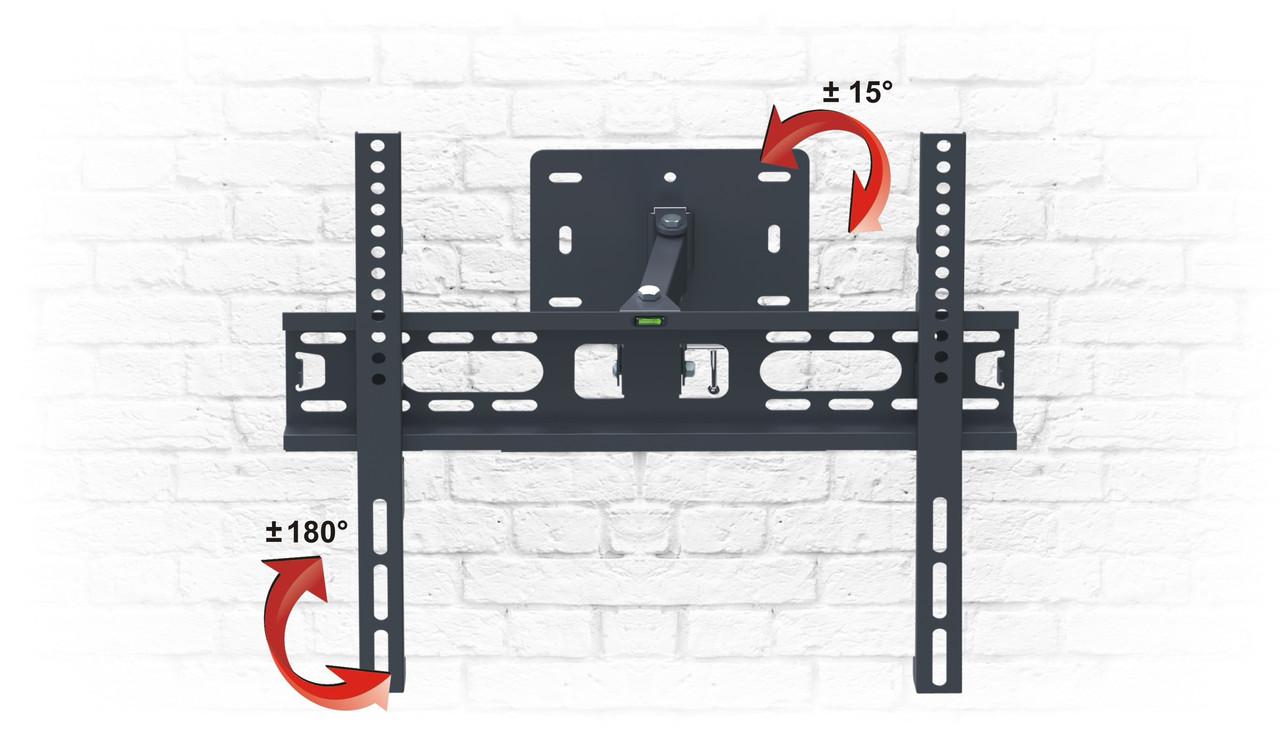 "Кронштейн AX PREMIUM 23"" - 47"" - крепление для монитора на стену."