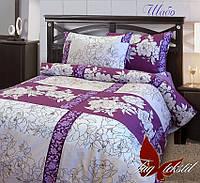 Полуторное постельное белье (ранфорс) Шабо