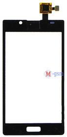 Сенсор (тачскрин) для телефона LG P700/P705 (LT430YF1A V0612/10) черный