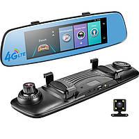 Зеркало регистратор, система ADAS, 7.84' экран, GPS навигатор, 4 G интернет, Car Assistent, E 06